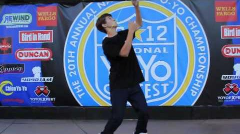 1A - 1st Place Zach Gormley - 2012 National Yo-Yo Contest - Presented By Duncan Toys