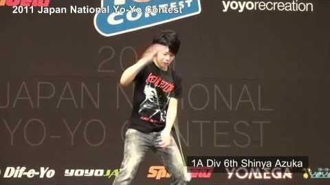 2011 Japan National Yo-Yo Contest 1A 6th Shinya Azuma
