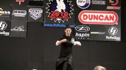 World Yo Yo Contest 2010 4A Division 1st Tsubasa Onishi