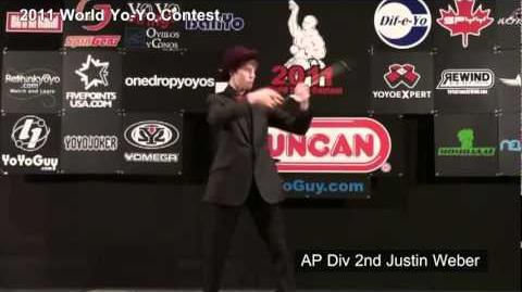 World Yo-Yo Contest 2011 - AP Div 2nd Justin Weber