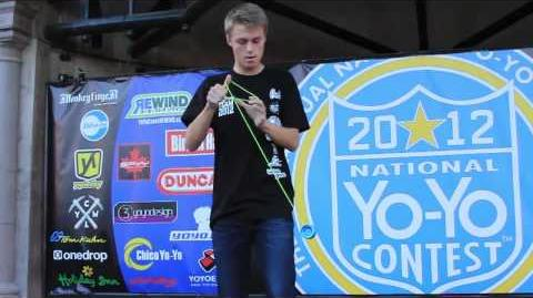 1A - 2nd Place Gentry Stein - 2012 National Yo-Yo Contest - Presented By Duncan Toys
