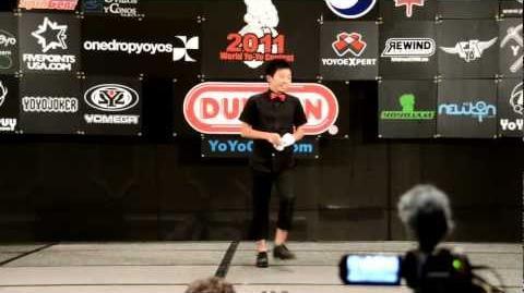 C3yoyodesign Present World Yoyo Contest 2011 4A 1st Naoto Okada