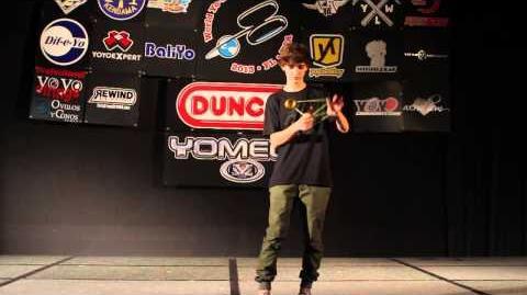 1A Finals - 7th - Zach Gormley - 2013 World Yo-Yo Contest