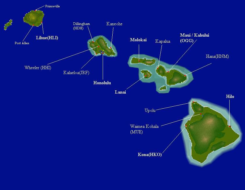 Kapalua Hawaii Map.Hawaii Ys Flight Sim Wiki Fandom Powered By Wikia