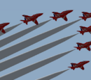 YS Flight Red Arrows