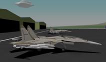 Parked Su-37Us