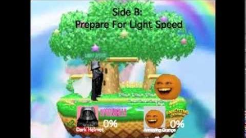 Smash Bros Lawl Moveset- Dark Helmet