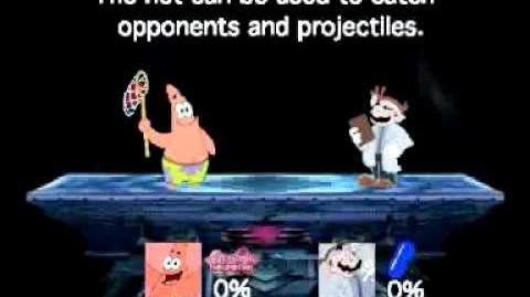 Smash Bros Lawl Moveset-Patrick Star