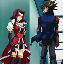 Yusei and aki face to face by mey chian-d4m11wx