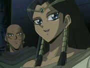 Ishizu smiles