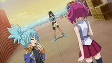 Yuzu, Sora and Masumi