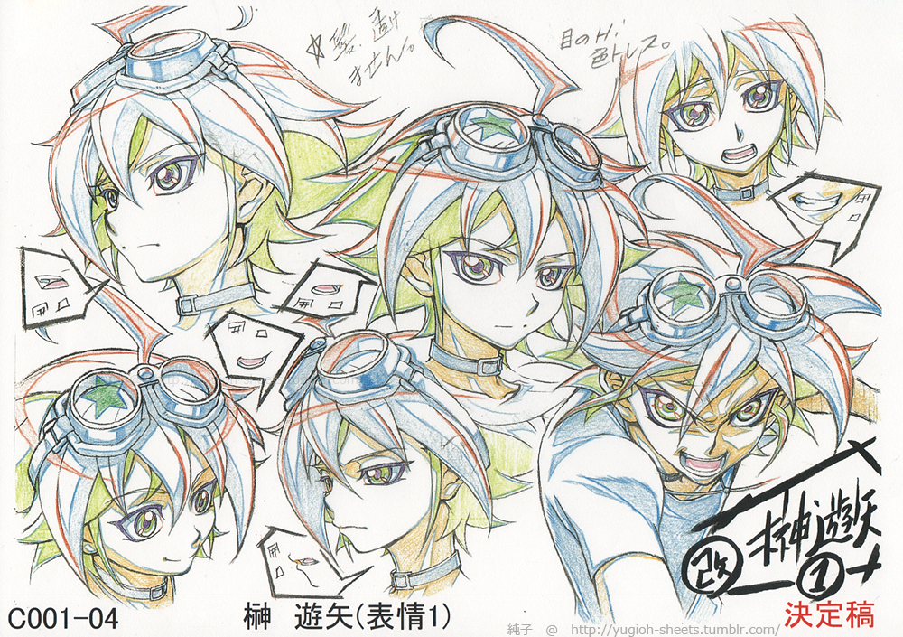 Yugioh Character Design : Image yuya s face concept art yu gi oh arc v wiki