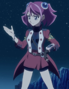 Arc V Yuzu wearing Serena's clothes