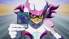Arc V Yuzu using a fusion card
