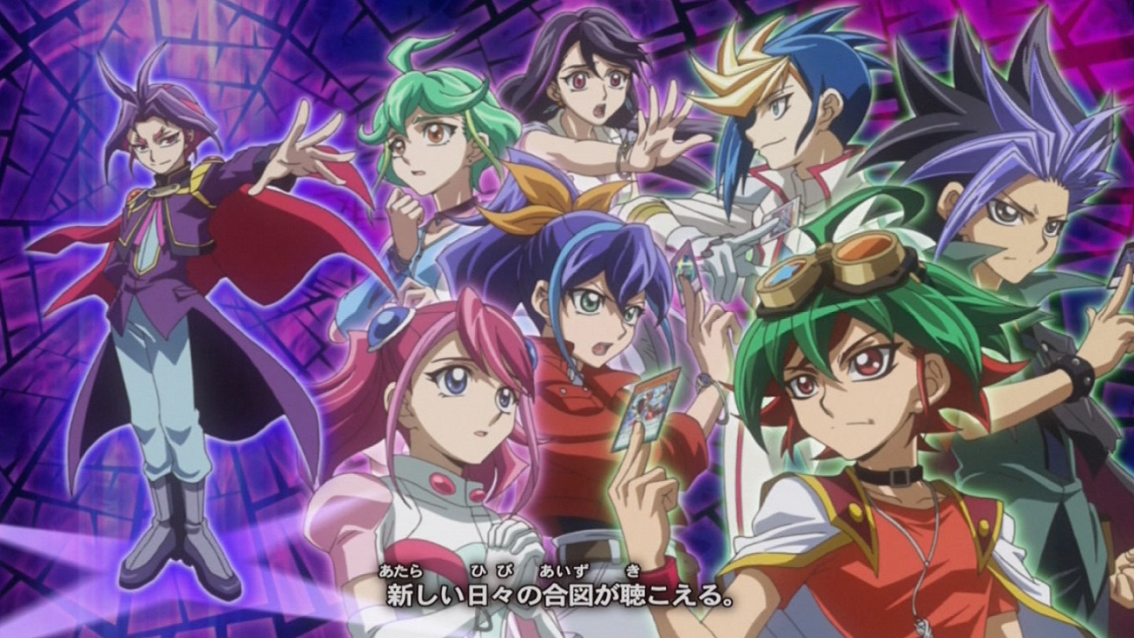 Dimensional Anime Characters : Image arc v dimensional counterparts yu gi oh