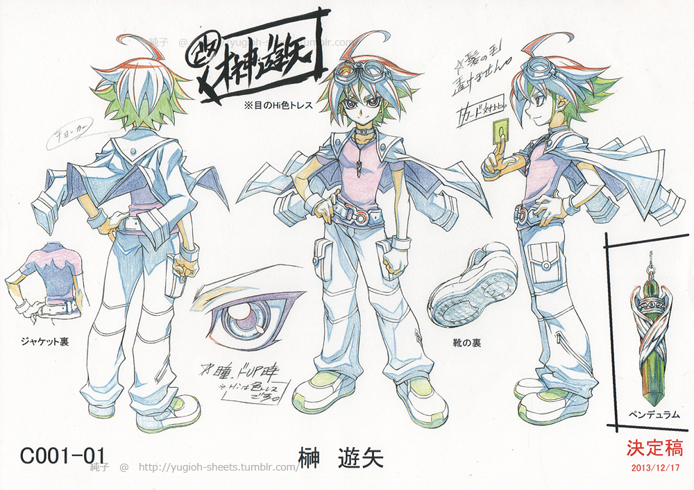 Yugioh Character Design : Image yuya concept art yu gi oh arc v wiki