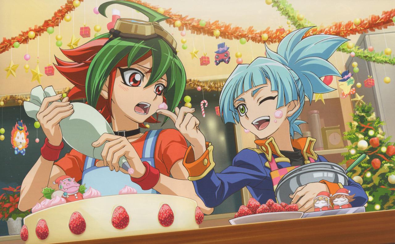 Image - Arc V Sora and Yuya Xmas.jpg | Yu-Gi-Oh! ARC-V Wiki | FANDOM ...