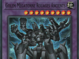 Golem Mégatonne Rouages Ancients
