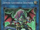 Démone Subterreur Béhémoth
