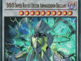 D/D/D Super Roi du Déclin Armageddon Brillant