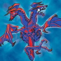 Dragon de Feu à Deux Têtes