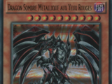 Dragon Sombre Métallique aux Yeux Rouges