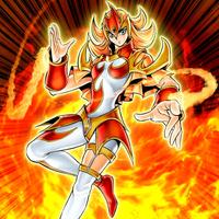 Demoiselle de feu
