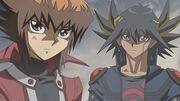 Jaden and Yusei