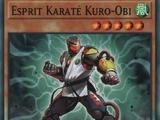 Esprit Karaté Kuro-Obi