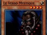 Le Verso Mystique