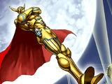 Capitaine Doré, Héros Elémentaire