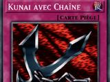 Kunai avec Chaîne