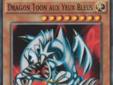 Dragon Toon aux Yeux Bleus