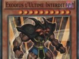 Exodius l'Ultime Interdit