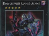 Bram Chevalier Vampire Cramoisi