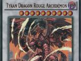 Tyran Dragon Rouge Archdémon
