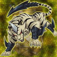 Cristal Avancé Tigre de Topazec