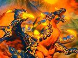Blaster, Maître Dragon des Brasiers