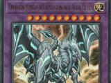 Dragon Jumelé d'Explosion aux Yeux Bleus