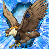 Bête Cristalline- Aigle de Cobalt