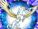 Bête Cristalline: Pégase de Saphir