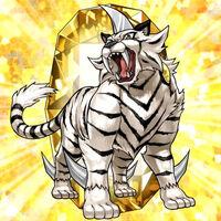 Bête Cristalline- Tigre de Topaze