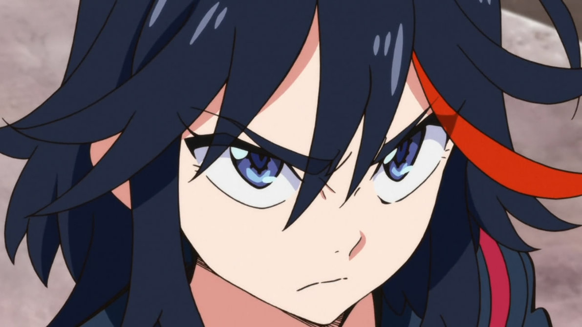Female Anime Characters Male Reader : Image ryuko matoi male reader falling for you pt by