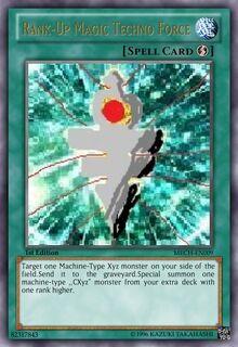 Rank-Up Magic Techno Force