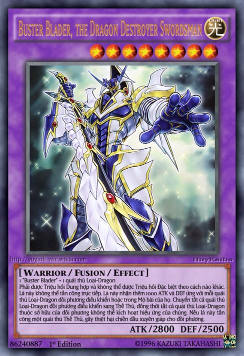 Buster Blader, the Dragon Destroyer Swordsman