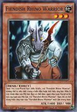 Fiendish Rhino Warrior
