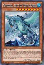 Gameciel, the Sea Turtle Kaiju