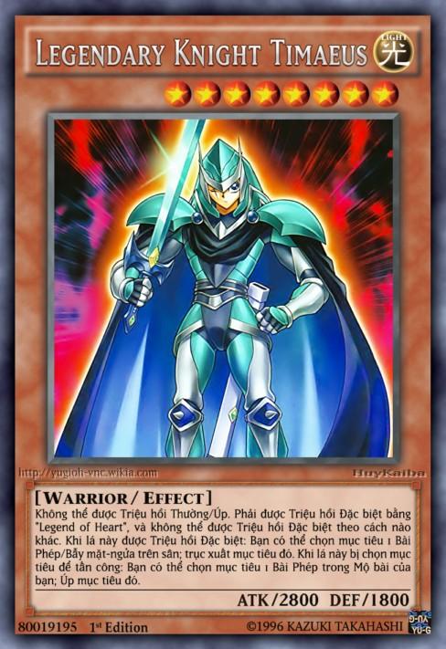 Legendary Knight Timaeus