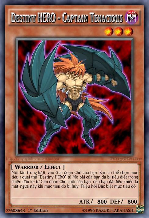 Destiny HERO - Captain Tenacious