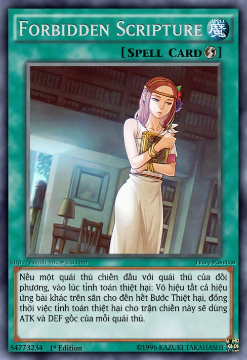 Forbidden Scripture